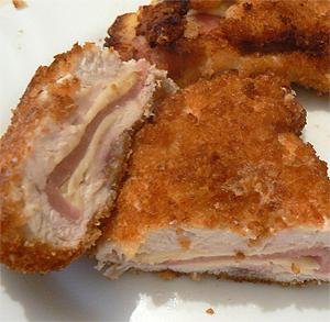 Ensalada templada de gulas y bacon