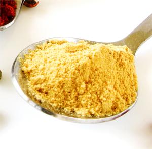 Tartaletas de Pollo con Pasas y Salsa de Curry