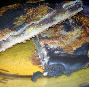 Tortilla de Patata con Cebollas, Pimiento y Chorizo