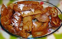 Tortillas canarias de Carnaval, con calabaza