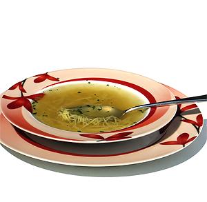 Filetes de pavo con salsa de puerros