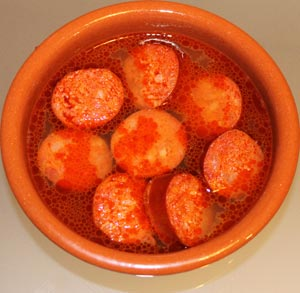 receta de chorizo a la sidra