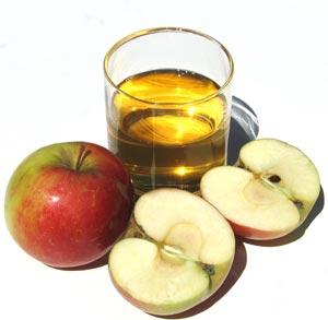 receta de cocina de zumo de manzana