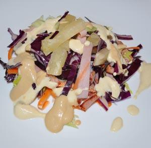 Pavo con salsa de almedras