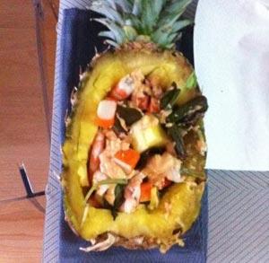 receta-gratis-piña-rellena-marisco