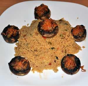 receta-gratis-cuscus-verdura-champiñones