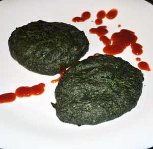 Cuscús de verduras con champiñones rellenos