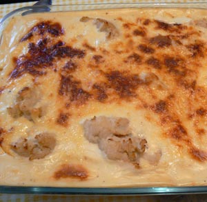 receta-gratis-coliflor-bechamel-bacon