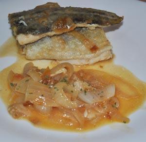 receta de cocina de bacalao encebollado