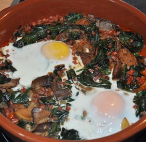 receta-gratis-huevos-espinacas-al-horno
