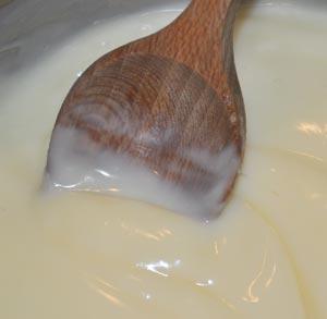 receta de cocina crema chocolate blanco