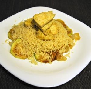 receta gratis de cuscus con pollo al curry