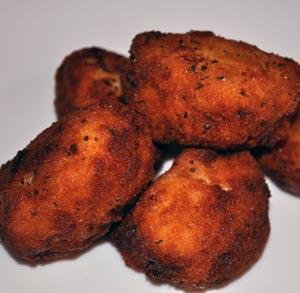 receta de cocina croquetas de cabrales