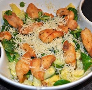 receta cocina ensalada pollo queso