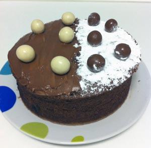 receta de cocina bizcocho de chocolate