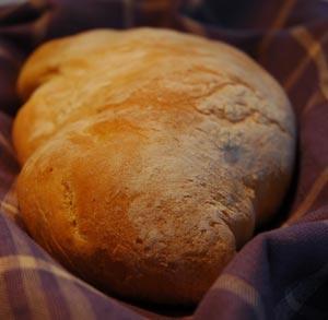 receta de cocina de pan casero