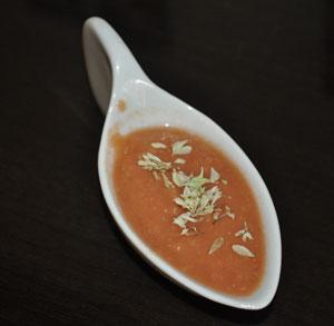receta gratis crema tomate aguacate fria