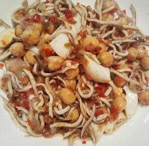 receta gratis ensalada garbanzos vinagreta