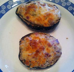 receta cocina berenjenas rellenas jamon serrano