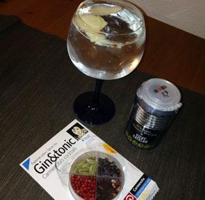 receta cocina coctel gin tonic manzana