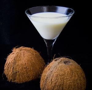 receta coctel piña coco