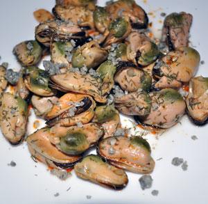 receta cocina aperitivo mejillones cabrales
