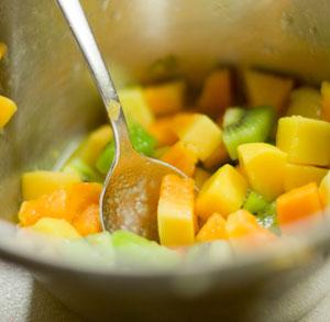 receta gratis cocina ensalada fruta