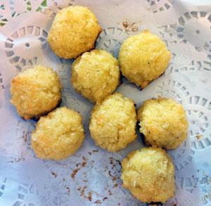 receta gratis bolas coco