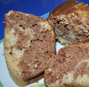 receta cocina bizcocho manzana chocolate