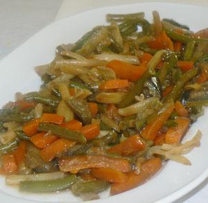 receta gratis cocina menestra verdura
