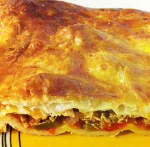 receta gratis empanada express atun