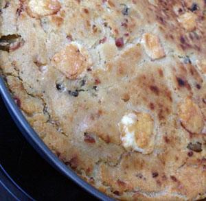 receta gratis pastel pan salado