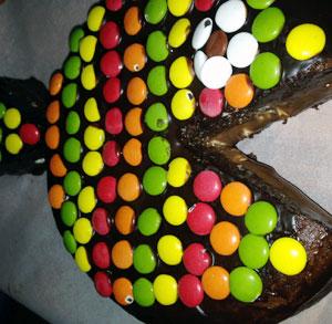 receta gratis tarta pez chocolate
