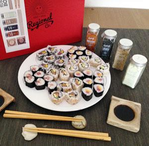receta gratis sushi maki REgional Co