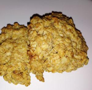 receta gratis galletas de avena
