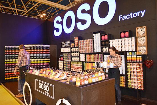 Sales de sabores soso factory