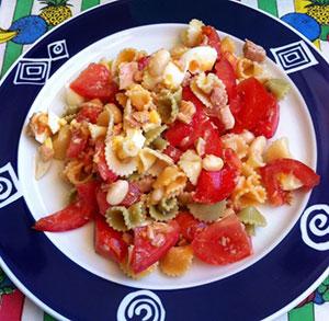 receta gratis ensalada de pasta