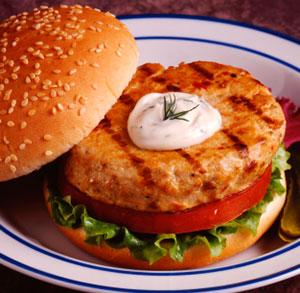 receta gratis hamburguesa salsa yogur