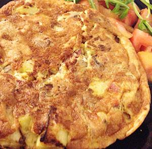 receta gratis tortilla calabacin queso