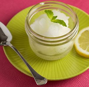receta gratis granizado de limon