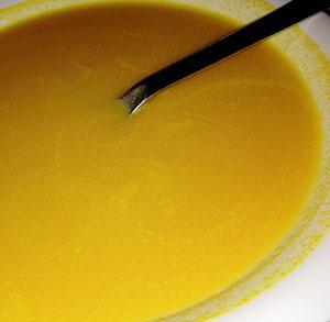 receta facil sopa de calabaza