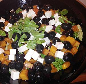 receta gratis cocina ensalada calabaza otoño