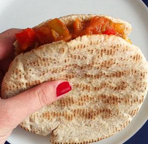 receta facil kebab pisto
