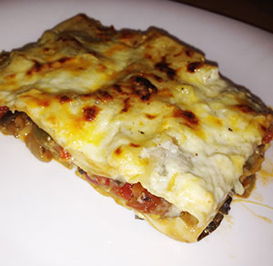 receta gratis lasaña de verduras vegetal