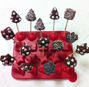 receta gratis pop cakes turron