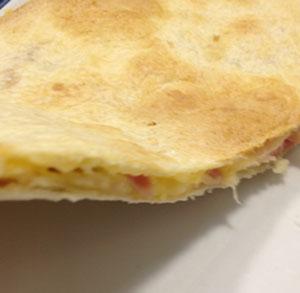 Quesadilla jamón y queso