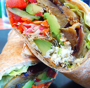 receta gratis durum kebab vegetal