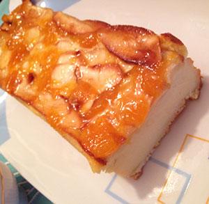 receta gratis pastel manzana