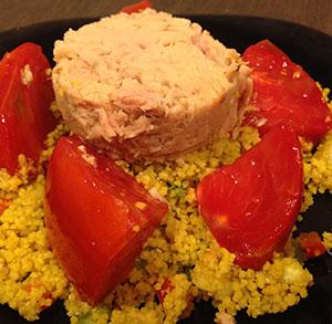 receta gratis tabule tomate atun sandia