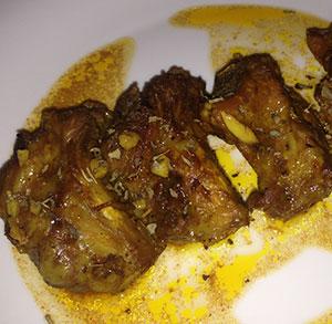 receta gratis costillas cerdo jengibre albahaca